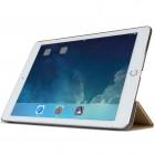 Apple iPad Air 2 plāns atvēramais smilšu krāsā futrālis