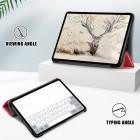 """Apple iPad Air 4 10.9"""" (2020) atvēramais sarkans maciņš"""