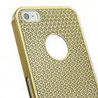 Stilīgs zelts, metāla Apple iPhone 5, 5S apvalks