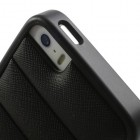 "Melns ""Infisens"" silikona Apple iPhone 5, 5S apvalks"