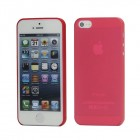 Apple iPhone 5 pasaulē planākais sarkans futrālis