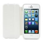 Atvēramais balts rāmis Apple iPhone 5 (Apple iPhone 5S) ar smart cover funkciju