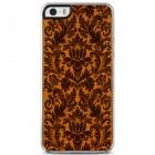 "Apple iPhone 5s ""Crafted Cover"" Kultūras dabīga koka telefona apvalks"