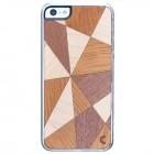 "Apple iPhone 5s ""Crafted Cover"" Mozaīkas II dabīga koka telefona apvalks"