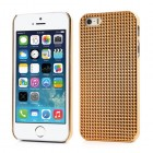 Zelts stilīgs reljefa 3D Apple iPhone 5 apvalks