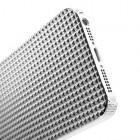 Balts stilīgs reljefa 3D Apple iPhone 5 apvalks