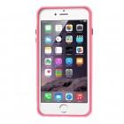 Apple iPhone 6 Plus (6s Plus) dzidrs, caurspīdīgs rāmis (sānu apmale, bamperis) - rozs