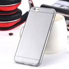 Apple iPhone 6S dzidrs (caurspīdīgs) cieta silikona TPU pasaulē planākais pelēks apvalks