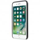 Soft Slim Apple iPhone 7 (iPhone 8) melns ādas apvalks