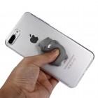 "Apple iPhone 7 Plus (iPhone 8 Plus) ""Squezy"" Grey Cat cieta silikona (TPU) dzidrs apvalks"