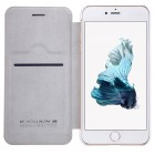 """Greznais """"Nillkin"""" Qin sērijas ādas atvērams balts Apple iPhone 7 Plus (iPhone 8 Plus) maciņš"""