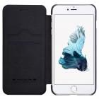 "Greznais ""Nillkin"" QinGreznais ""Nillkin"" Qin sērijas ādas atvērams melns Apple iPhone 7 Plus (iPhone 8 Plus) maciņš sērijas ādas atvērams melns Apple iPhone 7 plus maciņš"