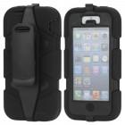 """Griffin"" Survivor melns Apple iPhone SE (iPhone 5, iPhone 5S) maciņš"