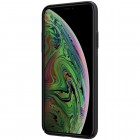 "Appe iPhone 11 ""Nillkin"" Frosted Shield Logo melns plastika apvalks"