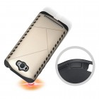 Pastiprinātas aizsardzības zelta Asus Zenfone Max (ZC550KL) apvalks