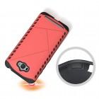 Pastiprinātas aizsardzības sarkans Asus Zenfone Max (ZC550KL) apvalks