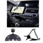 """""""CD Slot"""" kompakts autoturētājs - melns"""
