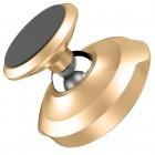 """""""Baseus"""" Magnet Mount (360°) zelta telefona autoturētājs (pie paneles)"""
