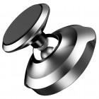 """Baseus"" Magnet Mount (360°) melns telefona autoturētājs (pie paneles)"