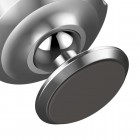 """""""Baseus"""" Magnet Mount (360°) sudrabs telefona autoturētājs (pie paneles)"""