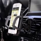 """Baseus"" Wind Car Mount melns telefona autoturētājs"