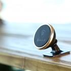 """""""Baseus"""" Magnet Mount zelta telefona autoturētājs (pie paneles)"""