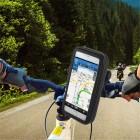 """Handlebar"" melns universāls telefona futrālis velosipēdam (L+)"