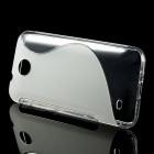 HTC Desire 300 dzidrs cieta silikona futrālis