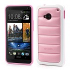 """Infisens"" Hybrid Bumper HTC One M7 rožinis dėklas"