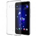 """HTC U11 (U11 Dual) """"Bullet"""" dzidrs (caurspīdīgs) cieta silikona TPU pasaulē planākais apvalks"""