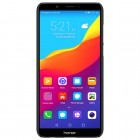 Huawei Honor 7C Nillkin Frosted Shield melns plastmasas apvalks