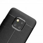 "Huawei Mate 20 Pro ""FOCUS"" cieta silikona (TPU) melns apvalks"