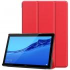 Huawei MediaPad T5 10 atvēramais sarkans maciņš