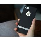 """""""Rock"""" Royce pastiprinātas aizsardzības melns pelēkā krāsā Apple iPhone 5 (5s, SE) apvalks"""