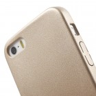 Apple iPhone 5s Slim Leather zelta ādas apvalks