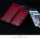 """""""JLW"""" sarkans universālais atverāms ieliktnis - maciņš (XL izmērs)"""