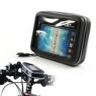 OO Sports melns universāls telefona futrālis velosipēdam (XXL)