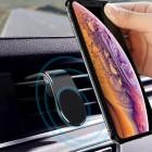 """""""L Shape"""" Magnet universāls melns telefona turētājs restēm"""