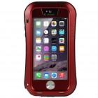 "Apple iPhone SE (iPhone 5, iPhone 5S) ""LOVE MEI"" Dropproof sarkans pastiprinātas aizsardzības apvalks"