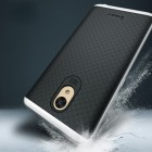 "Meizu m5 note ""IPAKY"" cieta silikona (TPU) melns apvalks (apmales - sudrabā krāsā)"