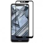 Nokia 5.1 Plus (2018) Imak Tempered Glass melns ekrāna aizsargstikls