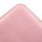 Universāls rozs ādas 8 collas planšetdatoru maciņš