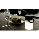 """Rock"" Mulite Bluetooth Speaker LED kompakts bezvadu melns skaļrunis (brīvroku ierīce)"