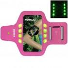 """""""Romix"""" Led apvalks sportam (rokas saite) - rozs, universāls (L izmērs)"""