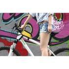 Roswheel geltonas dėklas - dviračio krepšys (XL)
