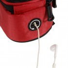 """Roswheel"" universāls telefona sarkans futrālis velosipēdam (XL)"