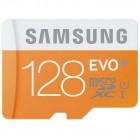 """""""Samsung"""" Evo MicroSD atmiņas karte 128 Gb, 10 klase ar SD adapteri"""
