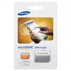 """""""Samsung"""" Evo MicroSD atmiņas karte 32 Gb, 10 klase ar SD adapteri"""