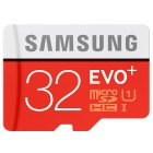 """Samsung"" Evo Plus MicroSD atmiņas karte 32 Gb, 10 klase ar SD adapteri"