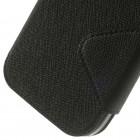 Samsung Galaxy Grand Neo (Lite) Roar Diary ādas atvēramais melns futrālis